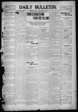 Primary view of object titled 'Daily Bulletin. (Brownwood, Tex.), Vol. 10, No. 64, Ed. 1 Friday, December 31, 1909'.