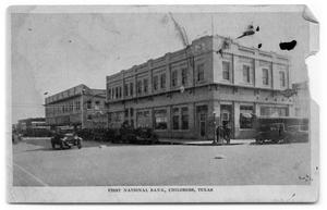 Primary view of object titled 'First National Bank'.