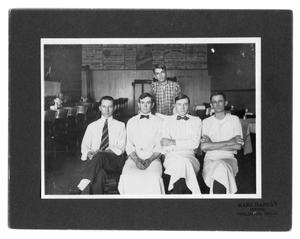 "Primary view of object titled 'John ""Otto"" Czewski & restaurant employees'."