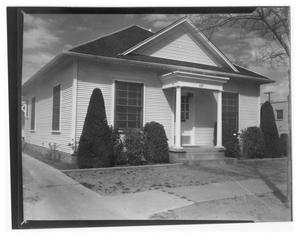 Primary view of object titled 'Office of Dr. Fred Cariker and later Dr. Rober Butler'.