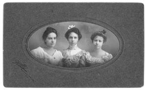 Primary view of object titled 'Three Dark-Haired Beauties'.