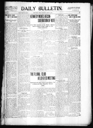 Primary view of object titled 'Daily Bulletin. (Brownwood, Tex.), Vol. 10, No. 265, Ed. 1 Wednesday, August 24, 1910'.