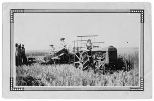 Primary view of object titled 'Wheat Harvest'.