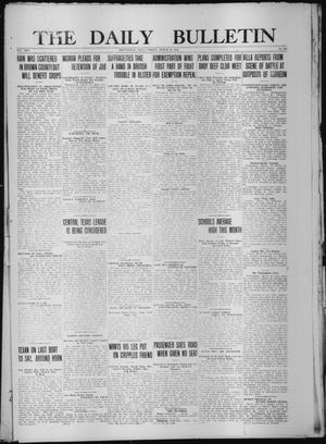 Primary view of object titled 'The Daily Bulletin (Brownwood, Tex.), Vol. 13, No. 126, Ed. 1 Friday, March 27, 1914'.