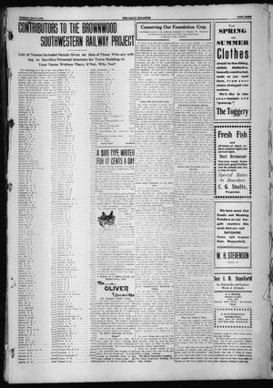 Primary view of object titled 'Daily Bulletin. (Brownwood, Tex.), Ed. 1 Tuesday, May 3, 1910'.