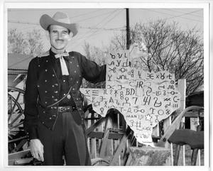 Primary view of object titled 'Colorful Chuck Wagon Master, Col. Sam Privitt'.