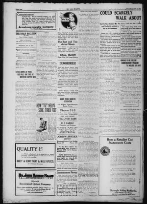 Primary view of object titled 'The Daily Bulletin (Brownwood, Tex.), Ed. 1 Thursday, May 28, 1914'.