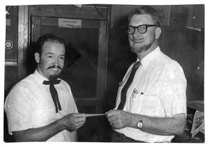 Primary view of object titled 'Old Settlers Beard Contest - Late 1950's'.