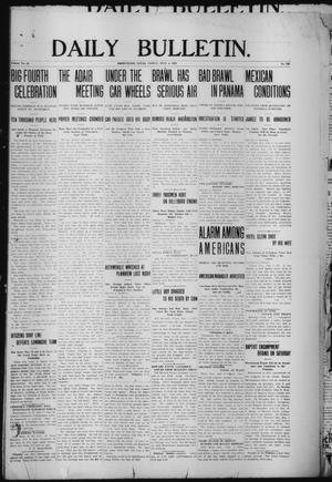 Primary view of object titled 'Daily Bulletin. (Brownwood, Tex.), Vol. 12, No. 219, Ed. 1 Friday, July 5, 1912'.
