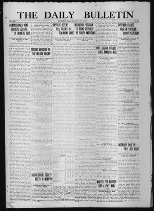 Primary view of object titled 'The Daily Bulletin (Brownwood, Tex.), Vol. 13, No. 161, Ed. 1 Thursday, May 7, 1914'.