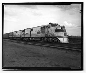 "Primary view of object titled '[The ""Silver Chief"" Texas Zephyr]'."