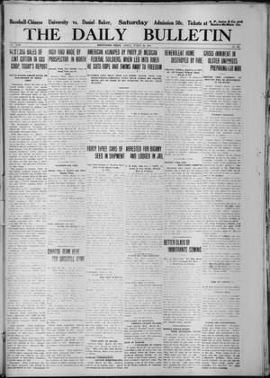 Primary view of object titled 'The Daily Bulletin (Brownwood, Tex.), Vol. 13, No. 120, Ed. 1 Friday, March 20, 1914'.