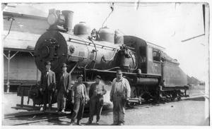 Primary view of object titled '[The Railroaders Who Make Them Roll]'.