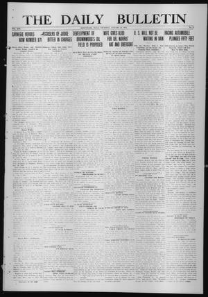Primary view of object titled 'The Daily Bulletin (Brownwood, Tex.), Vol. 13, No. 71, Ed. 1 Thursday, January 22, 1914'.