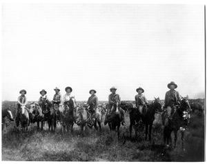[Crews Ranch Cowboys, Early 1900's]