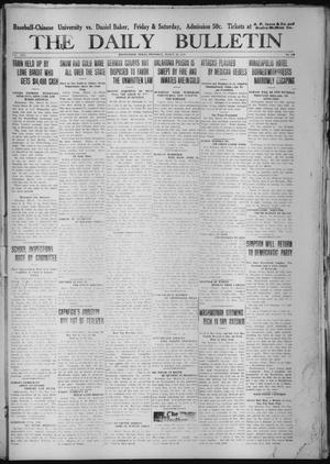 Primary view of object titled 'The Daily Bulletin (Brownwood, Tex.), Vol. 13, No. 119, Ed. 1 Thursday, March 19, 1914'.