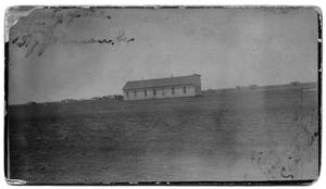 Primary view of object titled '[First Courthouse in Childress, Texas]'.