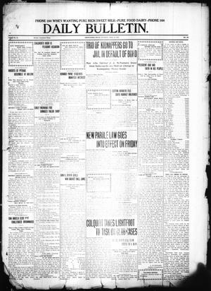 Primary view of object titled 'Daily Bulletin. (Brownwood, Tex.), Vol. 11, No. 161, Ed. 1 Tuesday, April 25, 1911'.
