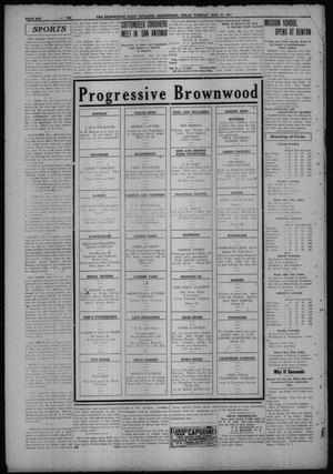 Primary view of object titled 'The Daily Bulletin (Brownwood, Tex.), Vol. 15, No. 194, Ed. 1 Tuesday, May 30, 1916'.