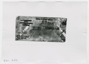 Primary view of object titled '[Document, Photograph #7]'.
