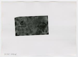 Primary view of object titled '[Mail, Photograph #2]'.