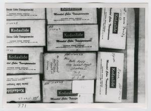 [Photographs of Kodaslide Boxes]