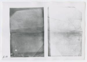 Primary view of object titled '[Photographs of Illegible Letter]'.