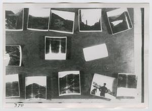 Primary view of object titled '[Photographs of a Scrapbook Page]'.