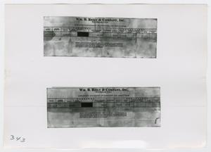 [Photograph of Earnings Statement]