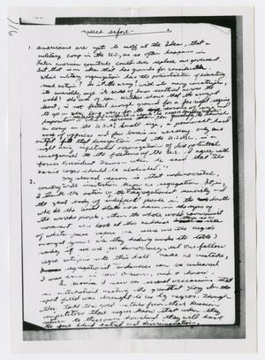 Primary view of object titled '[Oswald's Diary, Photograph #63]'.