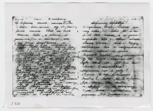 Primary view of object titled '[Lee Oswald's Notes]'.