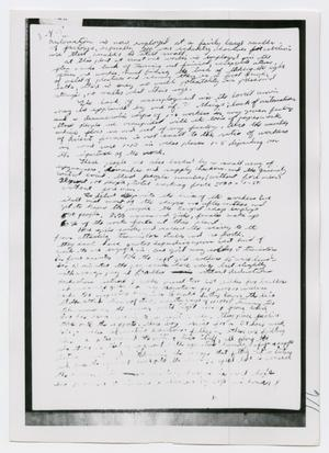 Primary view of object titled '[Oswald's Diary, Photograph #21]'.
