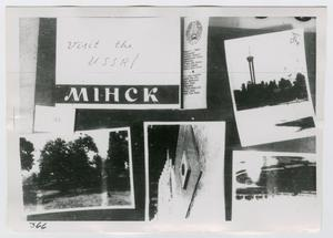 Primary view of object titled '[Photographs of Advertisement]'.