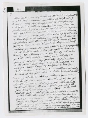 Primary view of object titled '[Oswald's Diary, Photograph #56]'.