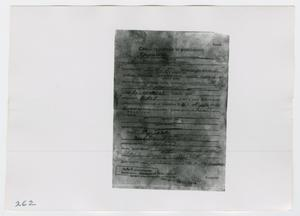 Primary view of object titled '[Photographs of Documents in Russian]'.