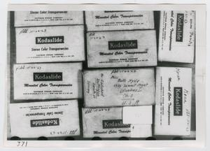Primary view of object titled '[Kodaslide Boxes, Photograph #2]'.