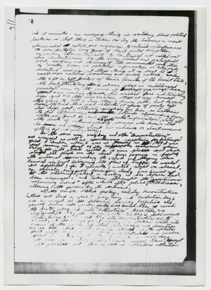 Primary view of object titled '[Oswald's Diary, Photograph #28]'.