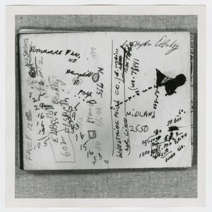 Primary view of object titled '[Pages in Oswald's Book, Photograph #2]'.