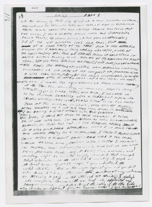 Primary view of object titled '[Oswald's Diary, Photograph #8]'.
