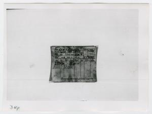 Primary view of object titled '[Identification Cards, Photograph #2]'.