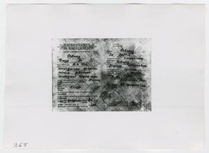 Primary view of object titled '[Identification for Oswald's Daughter, Photograph #2]'.
