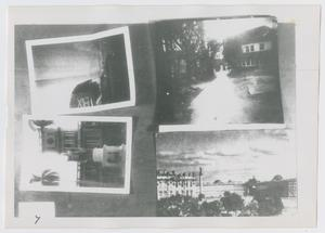 Primary view of object titled '[Photograph of Scrapbook Page]'.