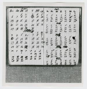 Primary view of object titled '[Pages in Oswald's Book, Photograph #13]'.
