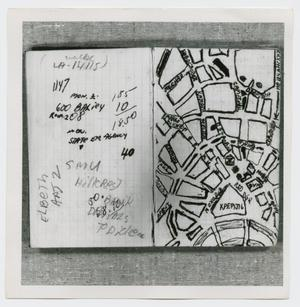 Primary view of object titled '[Pages in Oswald's Book, Photograph #4]'.