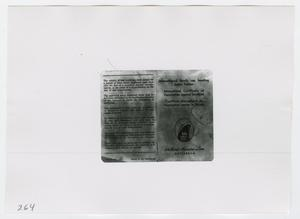 Primary view of object titled '[Vaccination Records, Photograph #1]'.