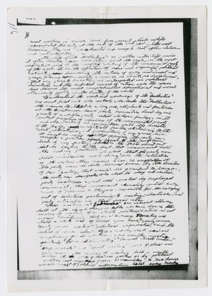 Primary view of object titled '[Oswald's Diary, Photograph #27]'.
