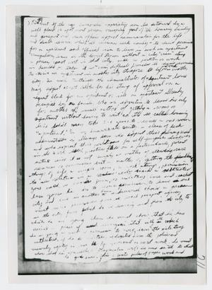 Primary view of object titled '[Oswald's Diary, Photograph #53]'.