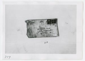 Primary view of object titled '[Letter to Marina Oswald, Photograph #4]'.