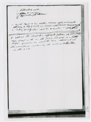 Primary view of object titled '[Oswald's Diary, Photograph #61]'.