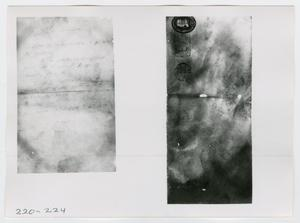 Primary view of object titled '[Mail, Photograph #1]'.